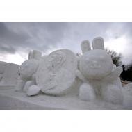 VSF2011雪像できました!