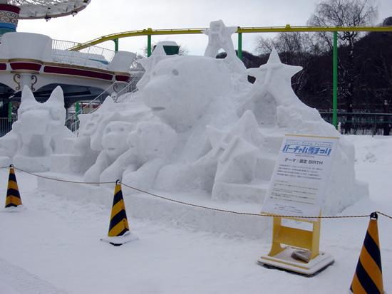 2月6日(土曜日)雪像の様子